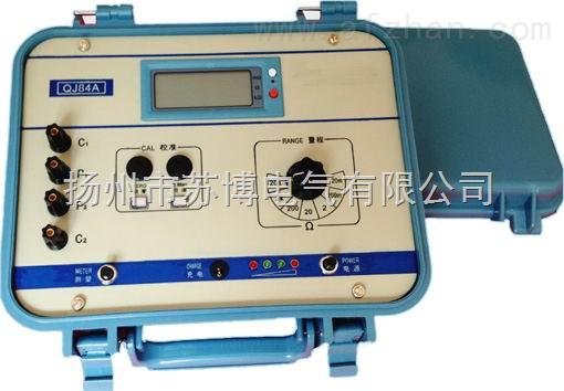 qj84a-数字直流双臂电桥-扬州市苏博电气有限公司