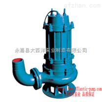 排污泵,QW立式潜水排污泵,管道式潜水排污泵,无堵塞管道排污泵