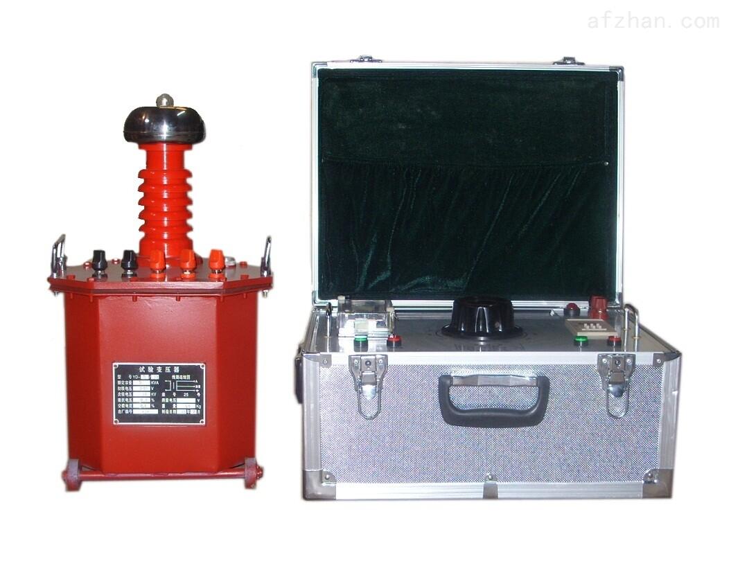 上海高压试验变压器指针操作箱(台)多少钱
