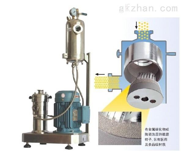 三级纳米湿法胶体磨
