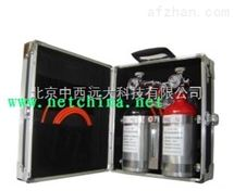 M78805中西直销 瓦斯传感器便携仪现场校准仪 型号:XKA71-BAX-1B库号:M78805