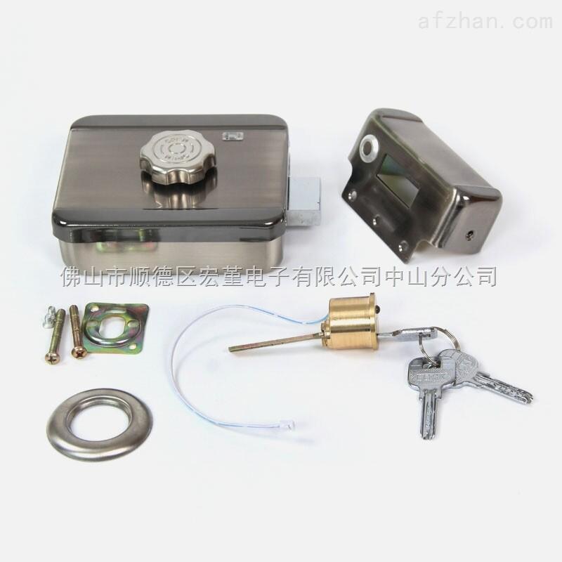 tg-026 福建省 高级静音电机锁 智能电子锁门禁密码刷卡锁防盗电控锁