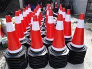 阳春高速公路维护圆锥 套工程方锥批发 交通路锥直销 江门恩平交通工程承接