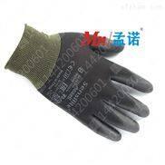 安思尔48-101 防化耐油黑色PU涂层手套