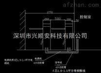 新疆防恐刷卡桥式三辊闸机