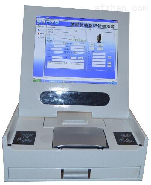 研腾访客机价格 访客登记一体机 访客一体机 来访身份证登记系统