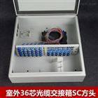光分路器箱,高密度SMC24芯尾纤光缆分纤箱,楼道箱