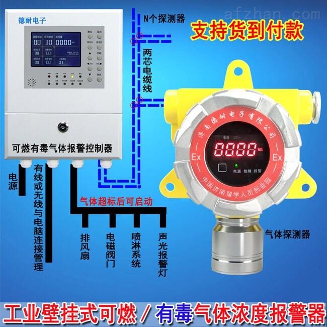 工业罐区酒精检测报警器,气体报警控制器什么品牌的好