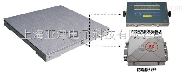 双层电子地磅秤仓库吊装货物0.5T双层地磅秤