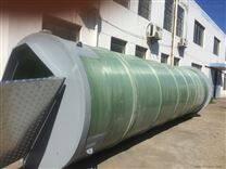 重庆一体化污水提升泵站玻璃钢筒体