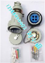 三相五线防爆工业连接器 型号:BJ16YT/GZ-5(5孔对接防爆插头插座)