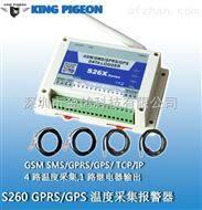 金鸽S260  云平台管理+手机APP温度报警控制器