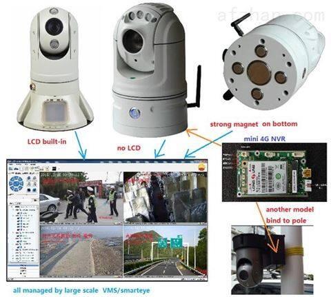 4G高清图传一体化布控球  成都车载摄像头