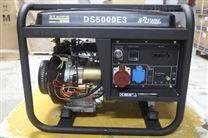 嘉定区萨登5KW三相开架式汽油发电机小型家用电启动
