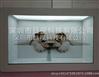厂家供应32寸透明屏广告机 透明液晶展示柜 专卖店透明展示柜