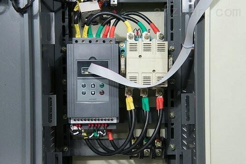 山西热水泵起动柜,55kw旁路软启动器