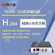 同三维T8000S HD-SDI高清音视频编码器 SDI高清采集卡 SDI采集盒