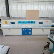 大型板材自动输送木工覆膜机易操作