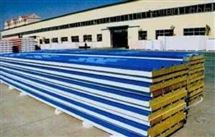 彩钢夹心钢结构专用岩棉板