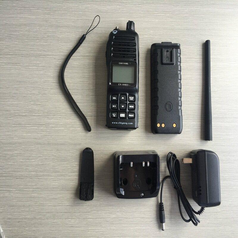 """驰洋CY-VH03 手持防爆对讲机 带CCS船检 CY-VH03防爆对讲机是根据GB 3836.1-2010《爆炸性环境 第1部分:设备 通用要求》及GB 3836.4-2010《爆炸性环境 第4部分:由本质安全型""""i""""保护的设备》的规定要求设计、制造,为本质安全型防爆对讲机,经国家防爆电气产品质量监督检验中心检验合格,满足本质安全型防爆要求。 对讲机由外壳、天线、电路板、扬声器、对讲机用电池等部件组成,外壳采用防静电阻燃材料制作,对讲机电池采用嵌入式机械卡紧结构,密封性能好且可以"""