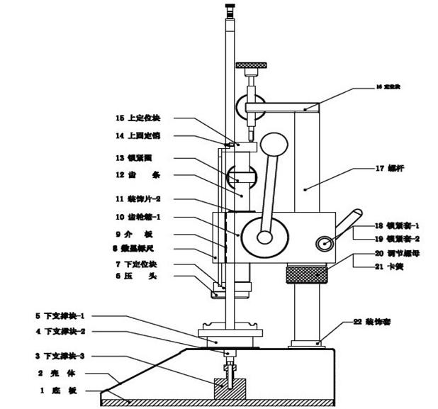 弹簧拉压测试仪型号规格 产品型号 测量范围 分度值 外形尺寸 行 程 (Modei) (N) (mm) (mm) (mm) SHATH-10 1-10 0.001 490*280*300 60 SHATH-20 2-20 0.001 490*280*300 60 SHATH-30 3-30 0.001 490*280*300 60 SHATH-50 5-50 0.001 490*280*300 60 SHATH-100 10-100 0.