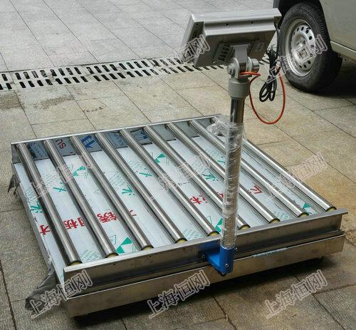 滚筒式电子秤