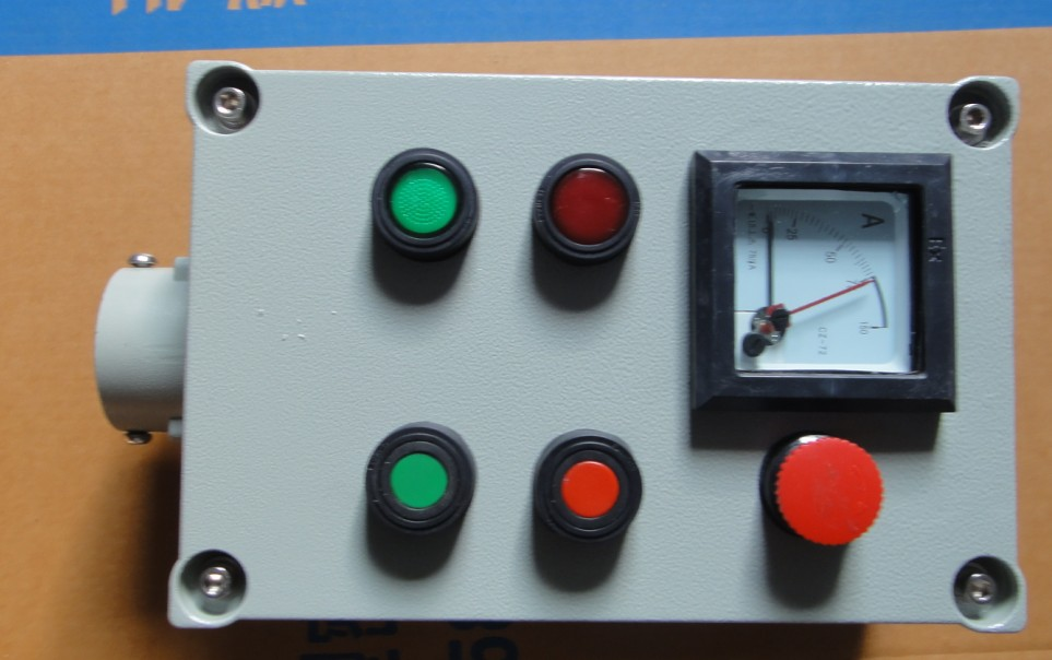 1,须说明现场防爆操作柱型号规格如:bzc51-a1d1k1l;(按钮及指示灯