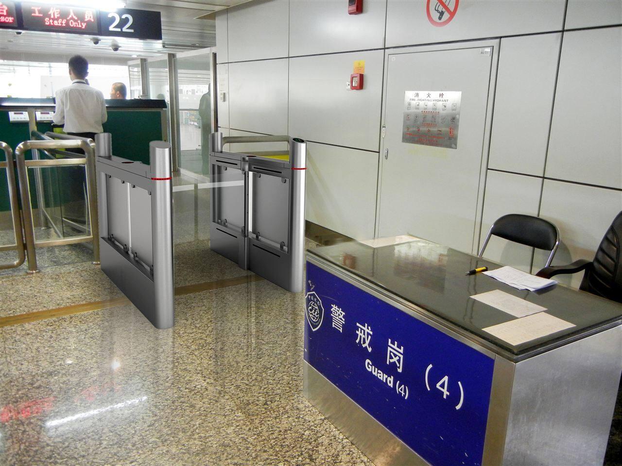 深圳机场智能闸机为机场实现自助登机服务